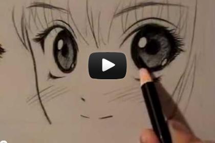 видео уроки по рисованию аниме